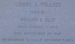 Louisa Ann <I>Pollock</I> Clay