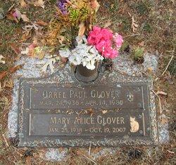 Mary Alice <I>Coates</I> Glover