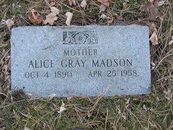 Alice <I>Gray</I> Madson