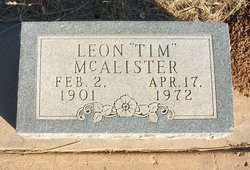 "Leon ""Tim"" McAlister"