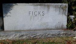 "Virginia May ""Ginny"" <I>Ficks</I> Peak"