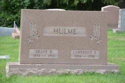 Grace B <I>Blackford</I> Hulme