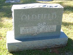 Alice E Oldfield