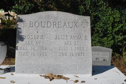 Julie Anna <I>Richard</I> Boudreaux