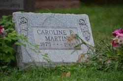 Caroline E Martin