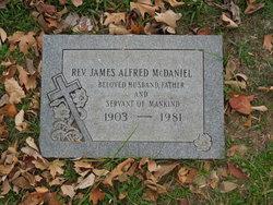 Rev James Alfred McDaniel