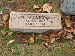 Zula Agnes <I>Pitts</I> Montgomery
