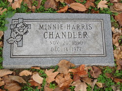 Minnie <I>Harris</I> Chandler