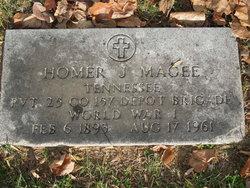 Homer J Magee