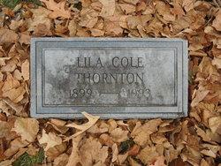 Lila <I>Cole</I> Thornton