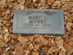 Mary Louise <I>Coleman</I> Moore
