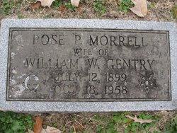 Rose P <I>Morrell</I> Gentry