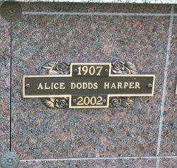 Alice <I>Dodds</I> Harper