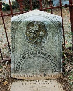 Elizabeth Jane Martin