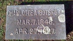 Charlotte Adelia <I>Henry</I> Botsford