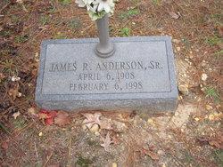 James R Anderson, Sr