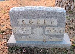 Mary Olean <I>Kinnaird</I> Acree