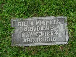 """Marilda M """"Rilla"""" <I>Martin</I> Davis"""