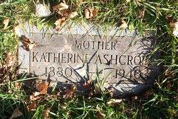 Katherine E. <I>Matheson</I> Ashcroft