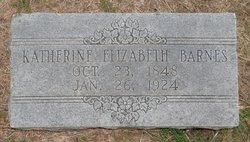 Katherine Elizabeth Barnes