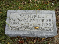 Catherine <I>Thompson</I> Hibler