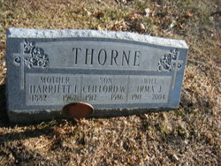 Irma Josie <I>Childress</I> Thorne