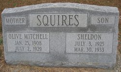 Olive <I>Mitchell</I> Squires