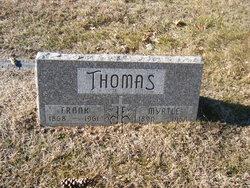 Myrtle <I>Mabrier</I> Thomas