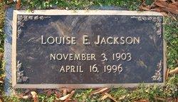 Louise E Jackson