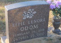 Effie Lenore Odom