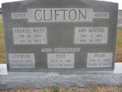 Amy <I>Mitchell</I> Clifton