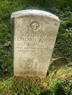 John V Hendrickson
