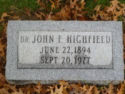 Dr John H Highfield