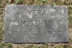 Vera E <I>Robertson</I> McGehee