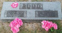 Fannie May <I>Hardin</I> Rudd