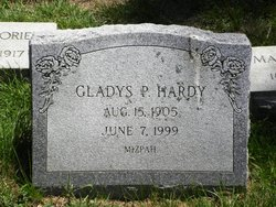 Gladys P Hardy