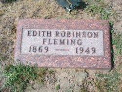 Edith <I>Robinson</I> Fleming