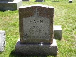 Sarah <I>Bartle</I> Hahn