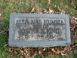 Ella Mae <I>Humble</I> King