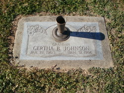 Gertha B Johnson