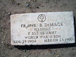 Sgt Frank Bernard DeMack