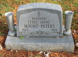 Ethel Irene Mount <I>Graham</I> Peters