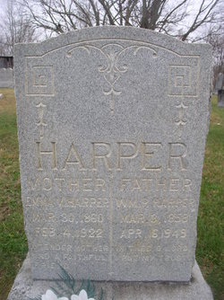 Emma V <I>Fields</I> Harper
