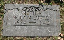 Nola Mae <I>Hampton</I> Lowrey