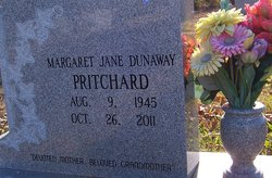 Margaret Jane <I>Dunaway</I> Pritchard