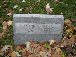 Annie <I>Troeller</I> McLean