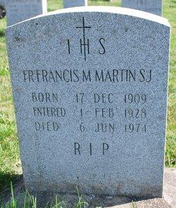 Fr Francis T. M. Martin