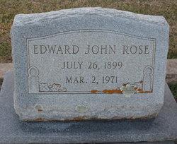 Edward John Rose