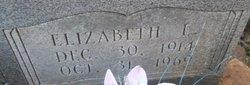 Elizabeth <I>Lowe</I> McConnell