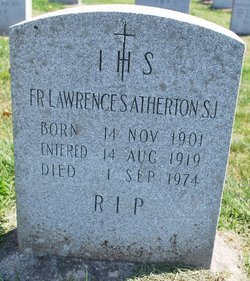 Fr Lawrence S. Atherton